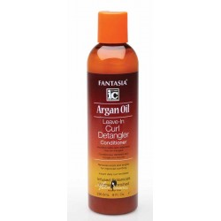 Fantasia IC Argan Oil Leave-In Curl Detangler