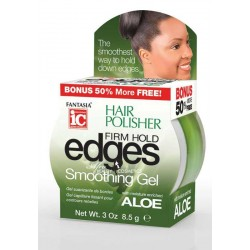 Fantasia IC Hair Polisher Edges Firm Hold Smoothing Gel