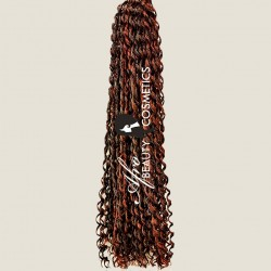 Loose Curl Braid 1B/350 Natural Black/Dark Red Copper