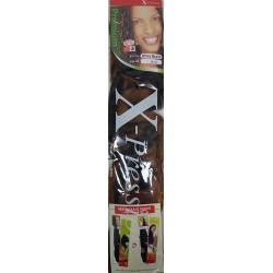 Ultra Braid X-Pression 1B/30 Natural Black/Light Auburn